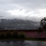 Výhled z Penzionu Filoun