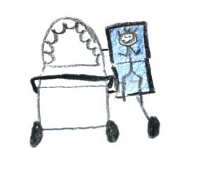 Přídavné boční sedátko