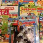 Časopisy zaručeně zabaví děti na cestách