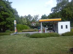Benzinová pupma na dopravním hřišti