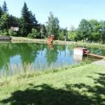 Koupací rybníček