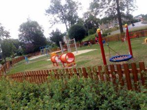 Dětské hřiště v obci Děpoltovice