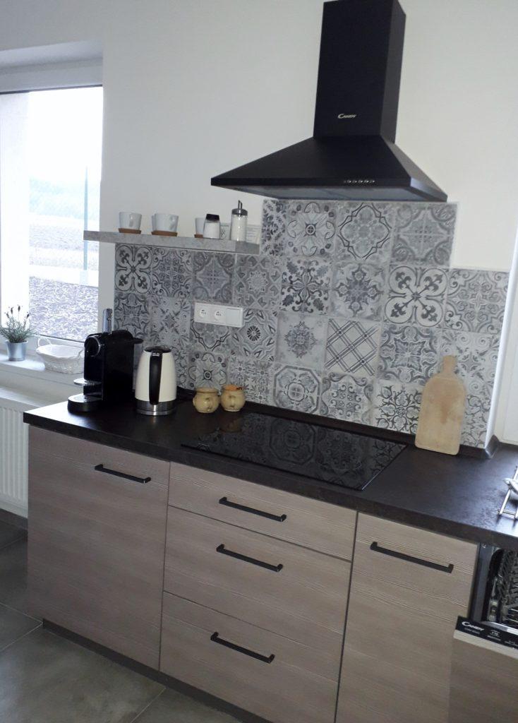 Plně vybavená kuchyň penzionu Holín
