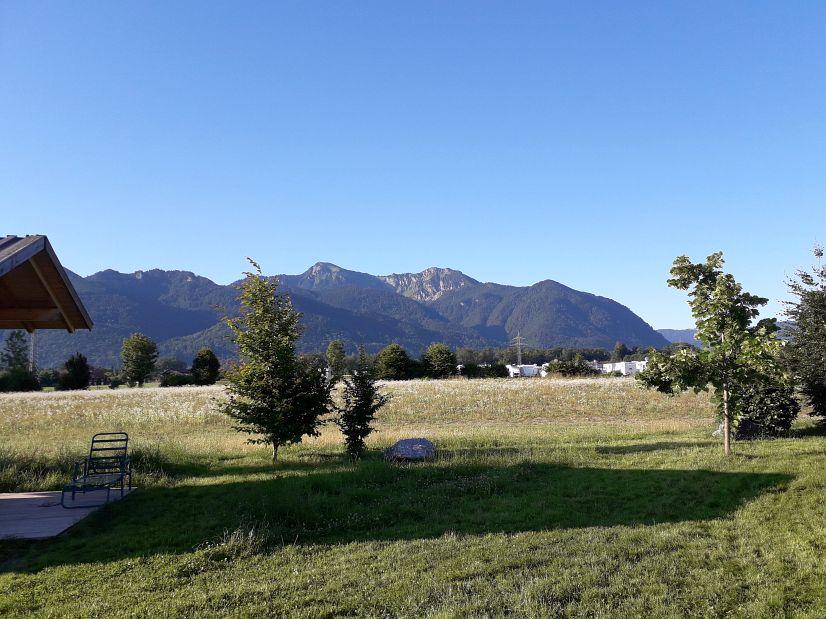 Výhledy z kempu Almdorado